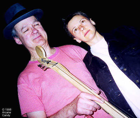 Tony Conrad + Alex Gelencser, 1998