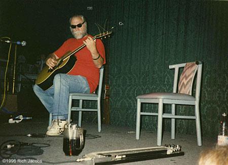 John Fahey, Spaceland, 1996.
