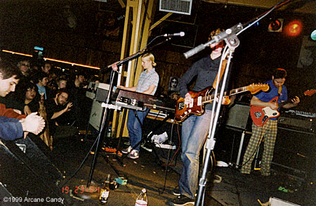 Stereolab at The Belly Up, 1999.