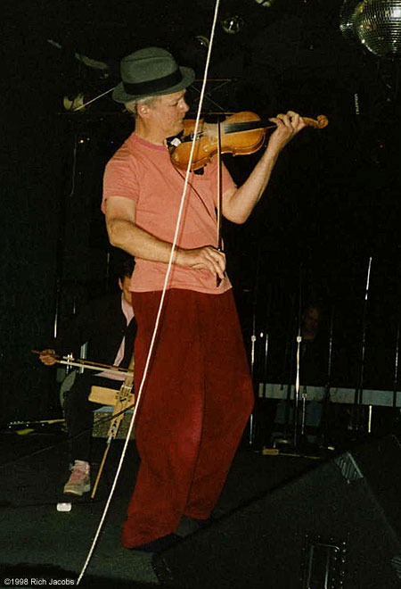 Tony Conrad at Spaceland, 1998.