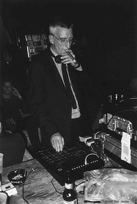 Bruce Gilbert at Table of the Elements Yttrium Festival, 1996.