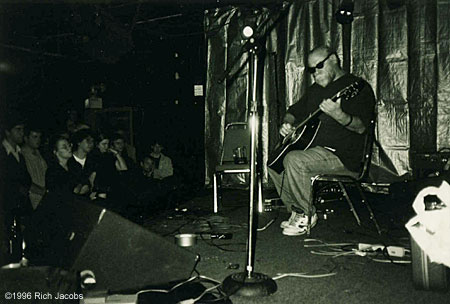 John Fahey at Table of the Elements Yttrium Festival, 1996.