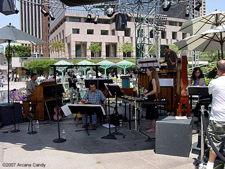Partch at California Plaza 2007.
