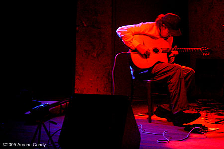 Sir Richard Bishop at the Knitting Factory, 2005.