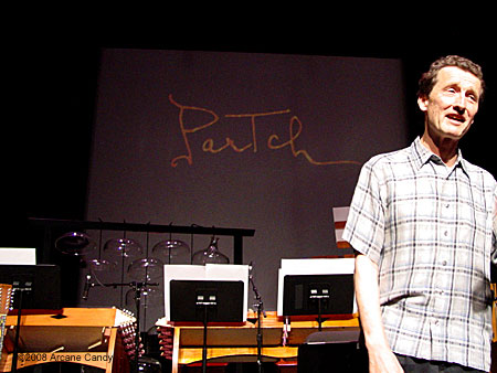 Partch at the REDCAT 2008.