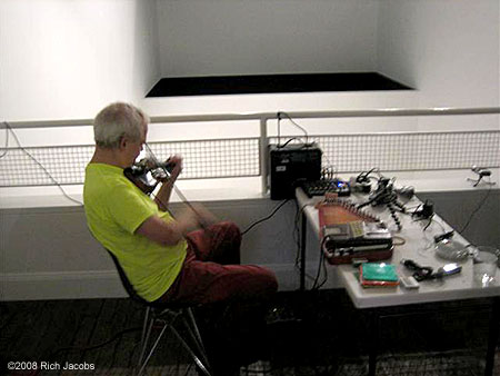 Tony Conrad at Lehmann Maupin Gallery, 2008l.