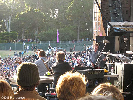 Wilco and Nels Cline at Outside Lands, 2008.