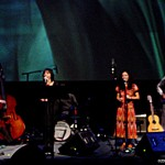 Brian Akio-Martinez, Niki Randa, Mia Doi Todd and Ben Knight perform Sandy Toes.