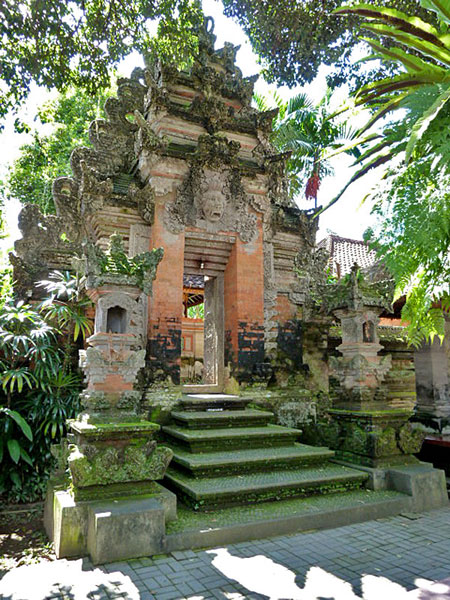 The Ubud Palace in Ubud, Bali.