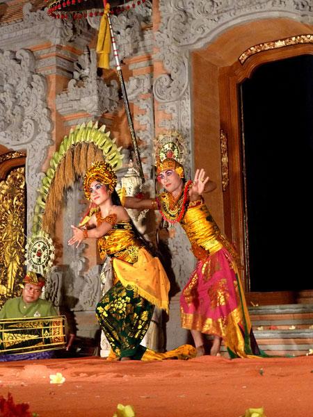 Bumble Bee dance at Ubud Palace in Ubud, Bali.