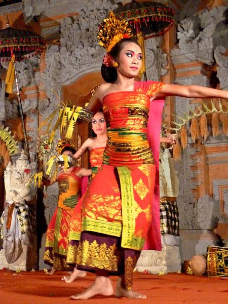 Gabor dance at Ubud Palace in Ubud, Bali.