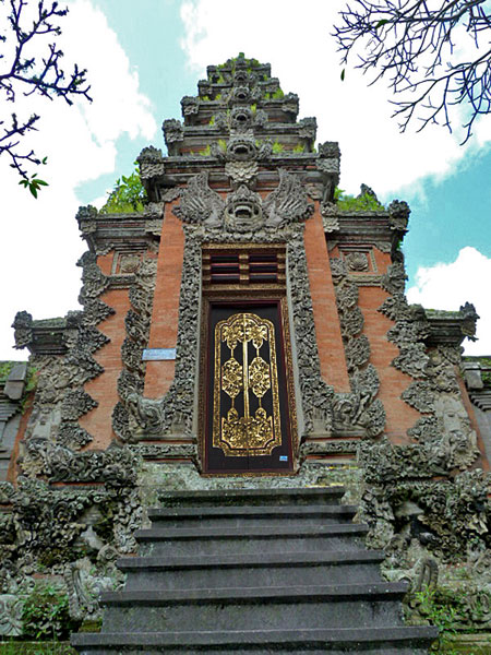 Pura Marajan Agung in Ubud, Bali.