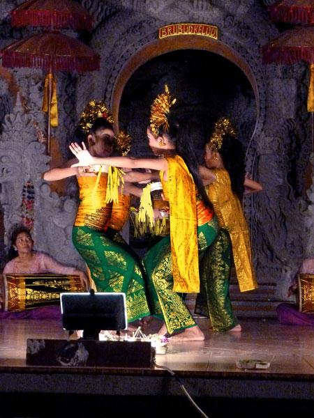 The Gabor dance at Ubud Kelod in Ubud, Bali.