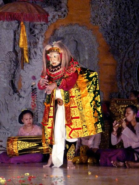 The Topeng Tua dance at Ubud Kelod in Ubud, Bali.