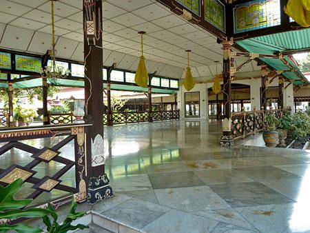 The Sultan's Palace in Yogyakarta, Java.