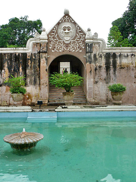 The Taman Sari, also known as the Water Palace, in Yogyakarta, Java.