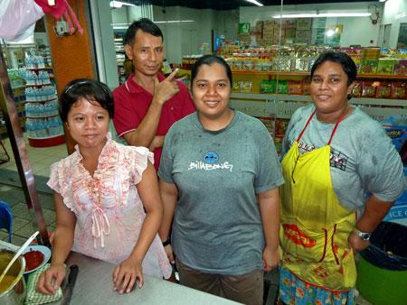 The fine feathered folks who run my favorite food cart in Chinatown, Kuala Lumpur, Malaysia.