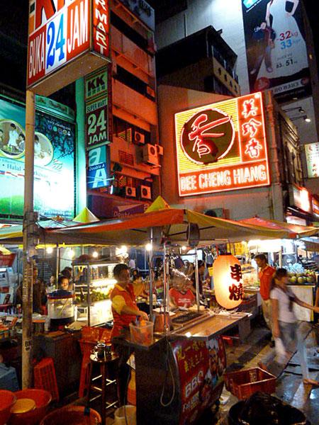 Bright signs in Chinatown, Kuala Lumpur, Malaysia.