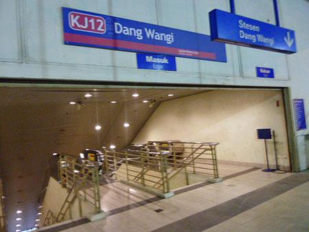The best subway station name ever. Kuala Lumpur, Malaysia.