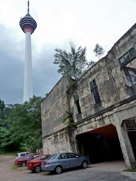 The KL Tower in Kuala Lumpur, Malaysia.