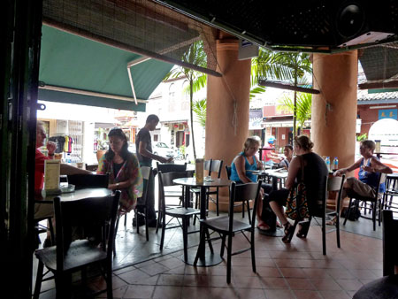 The Geographer cafe in Chinatown, Melaka, Malaysia.