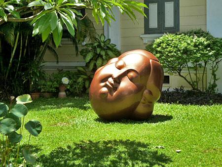 That's me taking a nap in Banglamphu, Bangkok, Thailand.