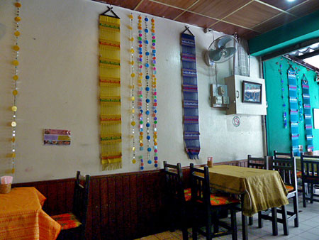 May Kaidee's vegetarian restaurant in Banglamphu, Bangkok, Thailand.