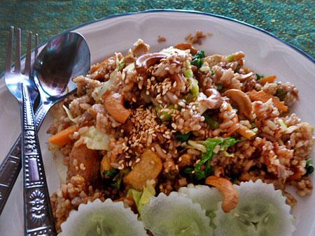 Another delicious lunch at May Kaidee's in Banglamphu, Bangkok, Thailand.