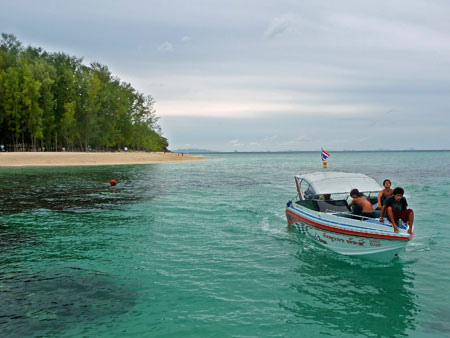 More excellent snorkeling on Bamboo Island, Thailand.