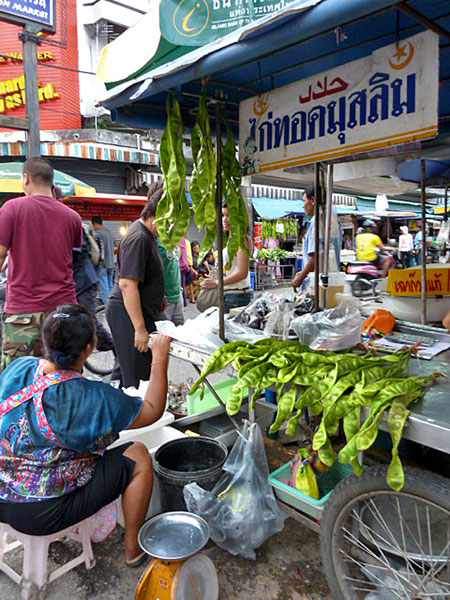 Some big-ass beans at a food stall in Phuket Town, Thailand.