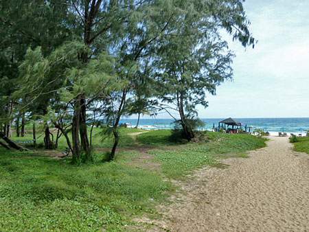 All paths lead to God, except this one. It leads to Karon beach in Phuket, Thailand.