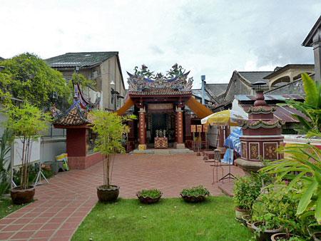 Saeng Tham Temple in Phuket Town, Thailand.