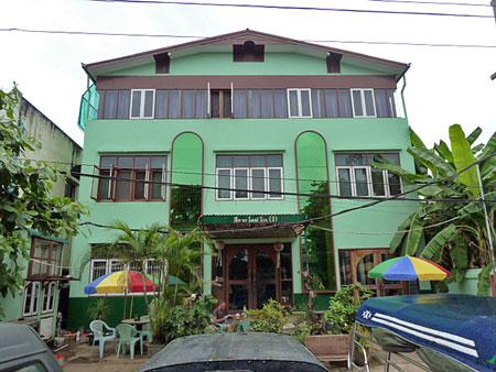 The Motherland II Inn in Yangon, Myanmar.
