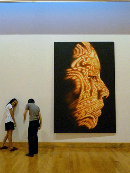 Surapong Somsuk, Human Male-Female No. 2, 2010 at the Bangkok Art and Culture Center in Bangkok, Thailand.
