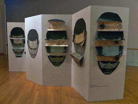 Wari Sangsuwo, Trauma, 2010 at the Bangkok Art and Culture Center in Bangkok, Thailand.