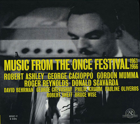 Music From the ONCE Festival box set cover.