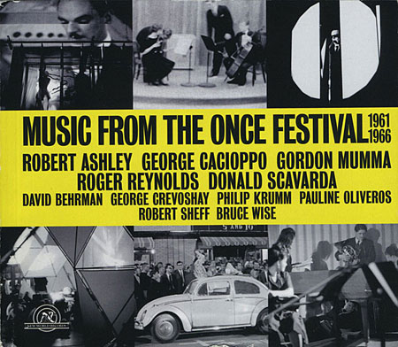 Music From the ONCE Festival book front cover.