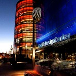 The Pacific Design Center, Los Angeles, California.