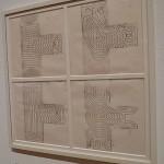 Iannis Xenakis, study for the Polytope de Cluny, Paris, France, 1972-73.