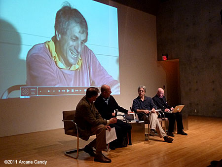 A lecture on Iannis Xenakis at MOCA Grand Avenue, Saturday, January 29, 2011.