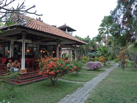 The Bayu Mantra hotel in Lovina, Bali, Indonesia.