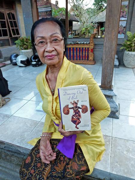 Ni Gusti Raka at the Tetamian compound in Peliatan, Bali, Indonesia.