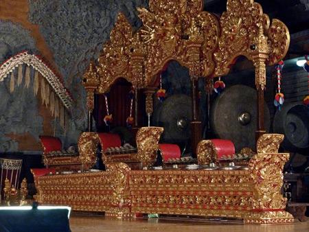 Bale Banjar Ubud Kelod in Ubud, Bali, Indonesia.