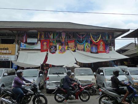 Ubud Market in Ubud, Bali, Indonesia.
