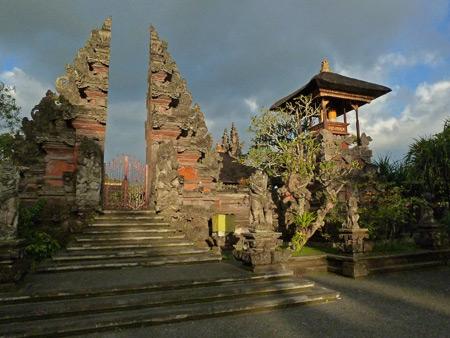 Pura Dalem Puri in Ubud, Bali, Indonesia.