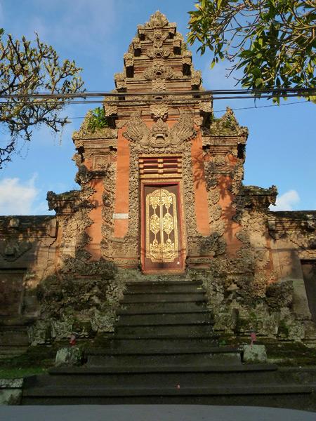 Pura Marajan Agung in Ubud, Bali, Indonesia.