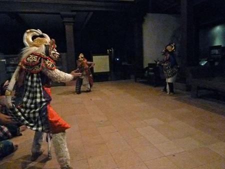 A Wayang Wong Ramayana performance at ARMA in Ubud, Bali, Indonesia.