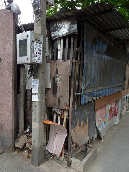 Site specific: An amazing unintentional art assemblage in Bangkok, Thailand.