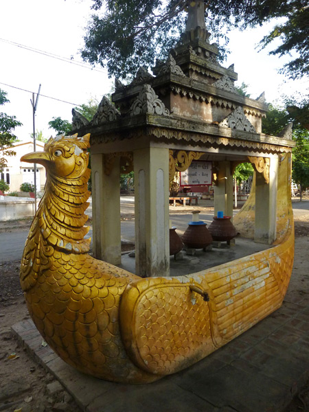 I'll bet you didn't know Big Bird now lives in Southeast Asia--Mandalay, Myanmar to be exact.