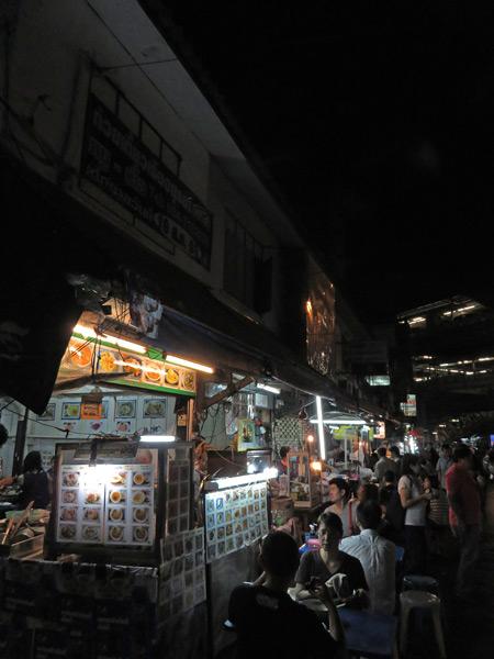 Soi 38 in Sukhumvit, Bangkok, Thailand.